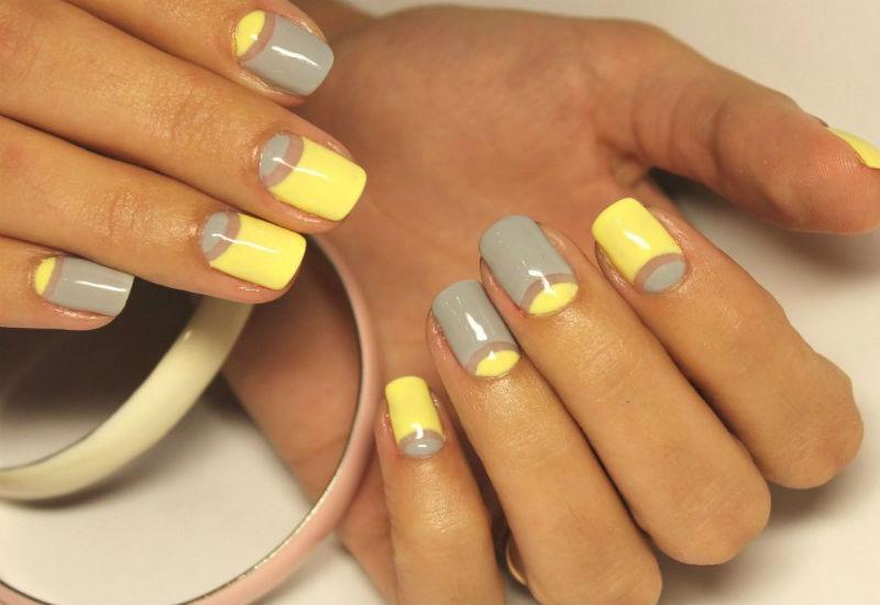 Жёлтые ногти