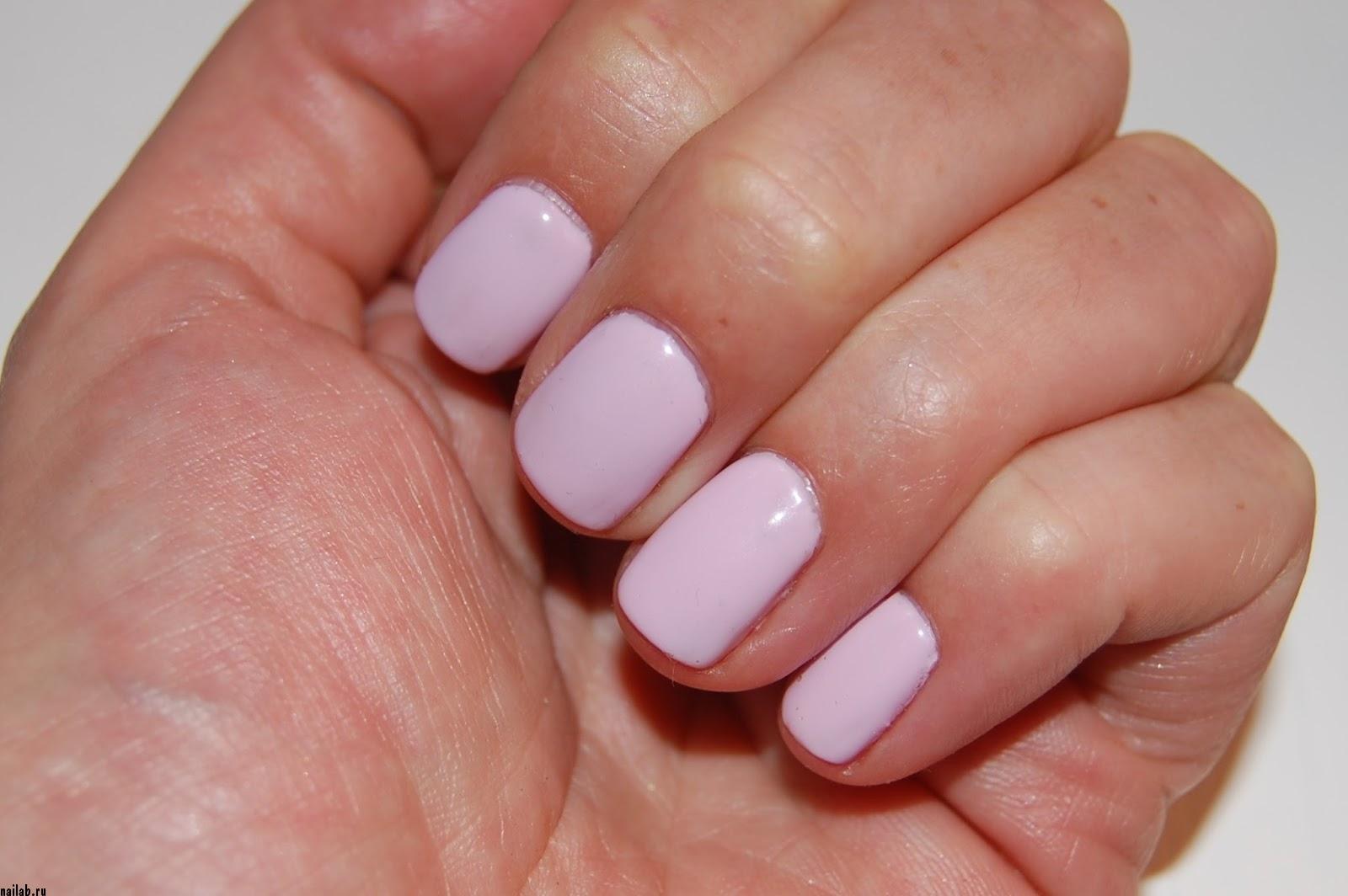 Shellac cnd cake pop на ногтях
