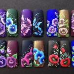 Цвета в китайском маникюре
