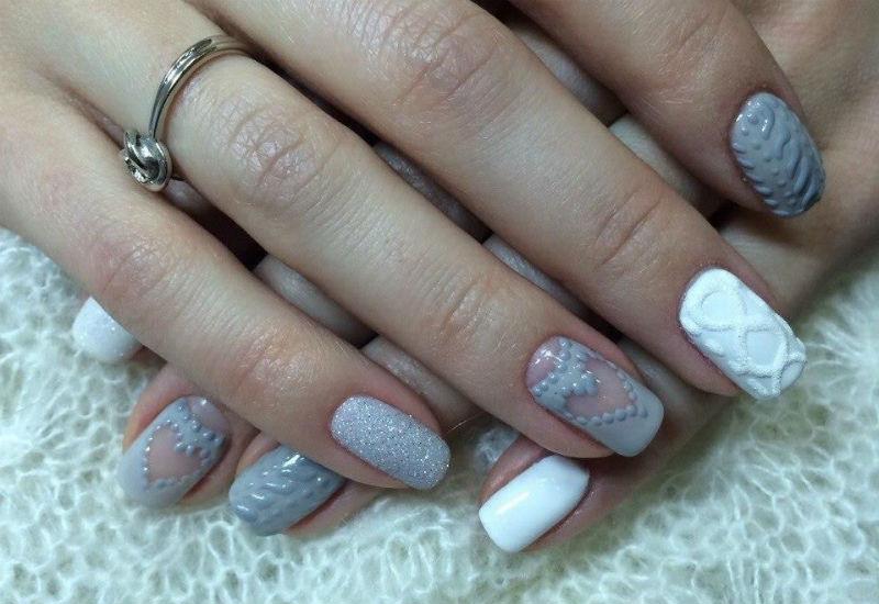 Ногти Шеллак Пошаговое Фото