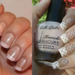 Дизайн ногтей белые колготки