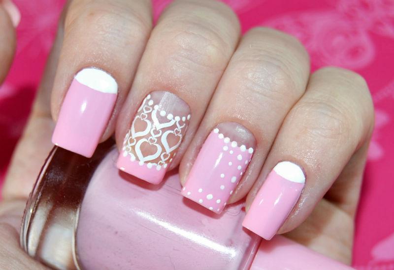 Розовый маникюр - фото идей дизайна ногтей - Best Маникюр 29