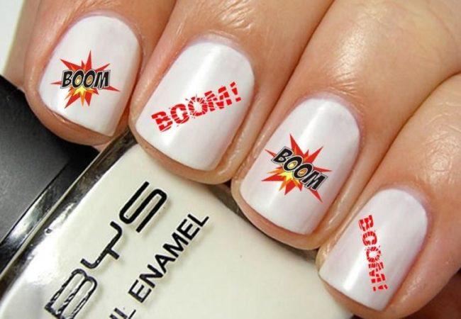 Слайдер дизайн для ногтей Бум.