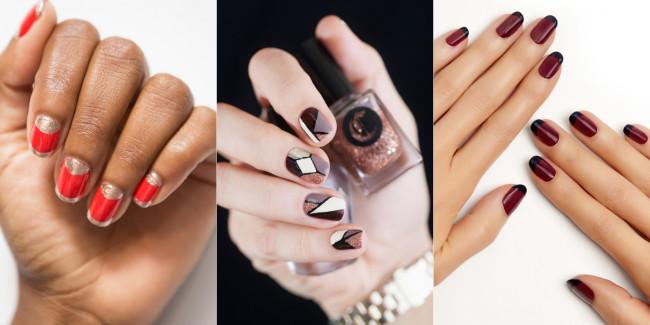 Варианты дизайна ногтей в домашних условиях.