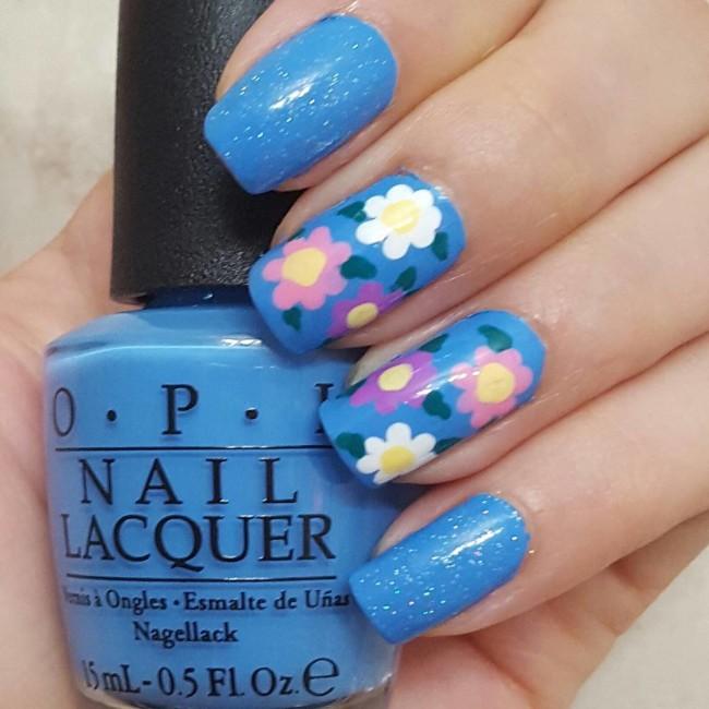 Цветы в пастельных тонах.