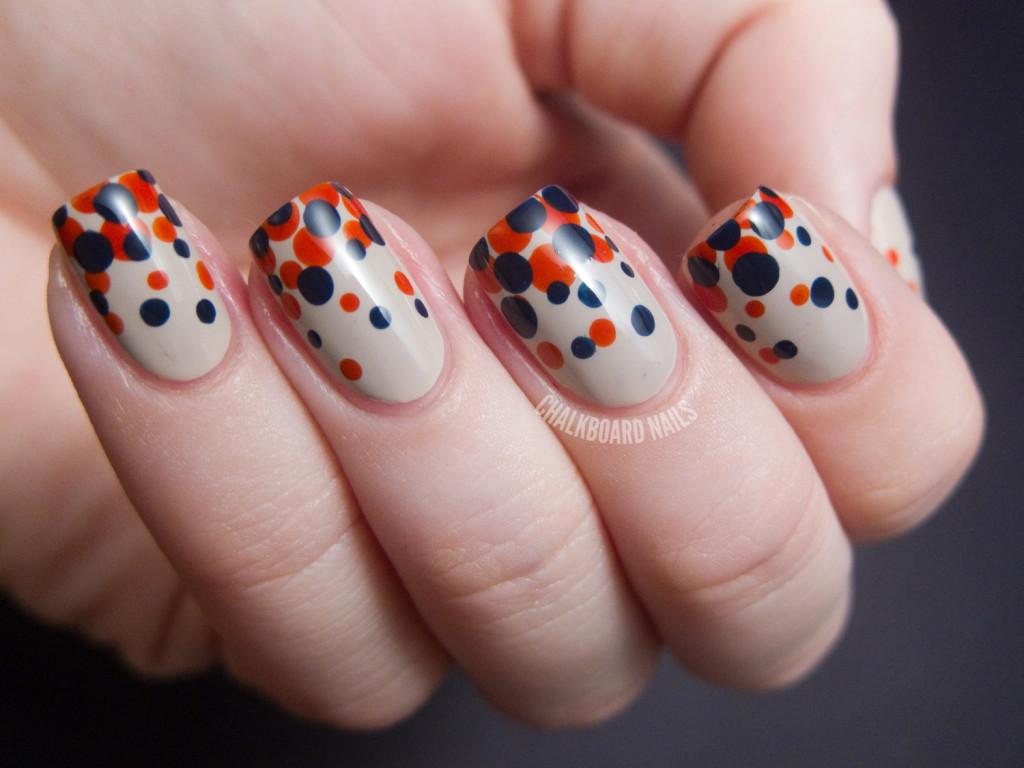Дизайна ногтей простой